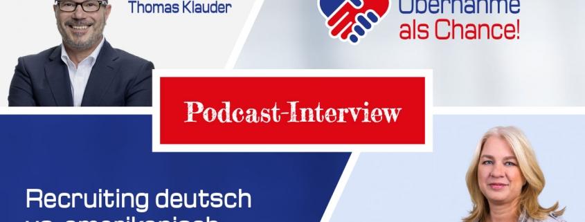Unterschied Recruiting deutsch amerikanisch